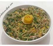 Tavuklu Telşehriye Salatası