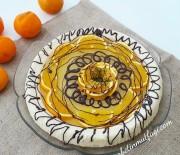 Sütlü İrmik Tatlısı Tarifi-Portakal Soslu Sütlü İrmik Tatlısı Tarifi-Gurbetinmutfagi
