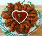 Yalancı Kalamar Tarifi-Çıtır Tavuk Nasıl Yapılır?Yemek Tarifleri-Gurbetinmutfagi