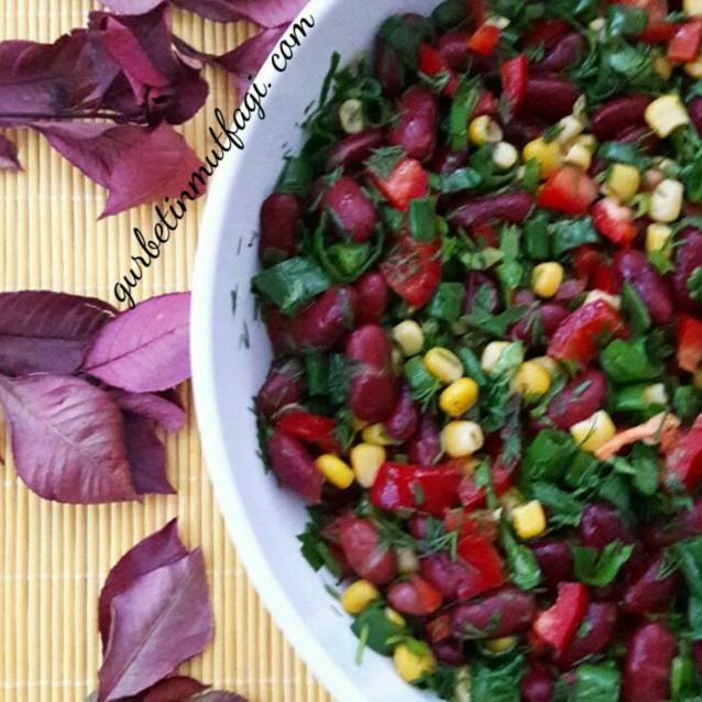 Meksika Fasülyesi Salatası
