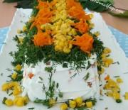Kalıpta Yoğurtlu Etimek Salatası