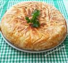 Tavada Makarnalı Börek Tarifi-10 Dakikada Su Böreği Lezzetinde Börek Tarifi-Gurbetinmutfagi