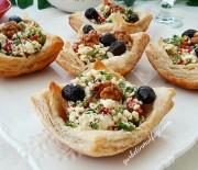 Milföy Börek Tarifi-Milföy Çanağında Lor Salatası Tarifi-Gurbetinmutfagi