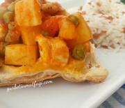 Milföylü Tavuklu Bezelye Yemeği Tarifi-Güveçte Tavuklu Bezelye Yemeği-Yemek Tarifleri-Gurbetinmutfagi