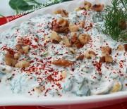Yoğurtlu Tavuk Salatası Tarifi-Tavuk Salatası Tarifi-Gurbetinmutfagi
