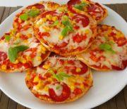 5 Dakikada Pizza Hazırlayabilirsiniz-Bazlamadan Pizzayı Denedinizmi-Hamurişileri-Gurbetinmutfagi